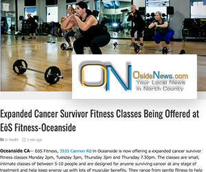 North County Cancer Fitness Wellness For Cancer Survivors